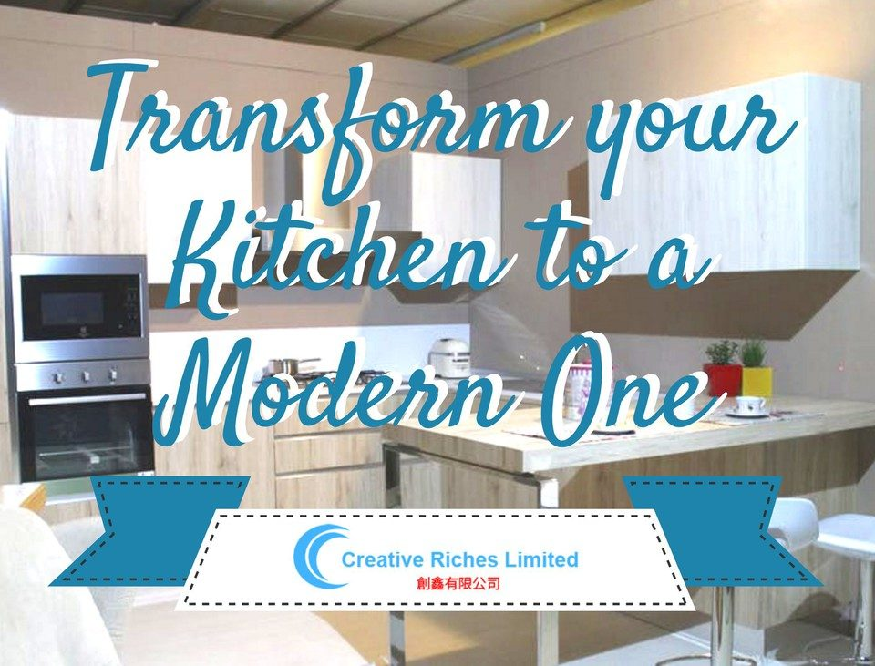 Transform your Kitchen to a Modern One - Creative-Riches.com